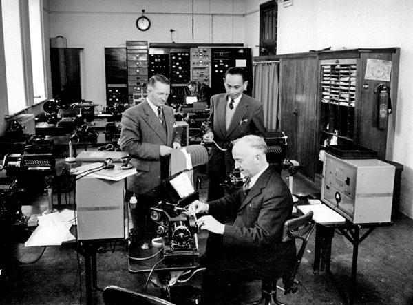 High-speed radiotelegraph at Wellington GPO