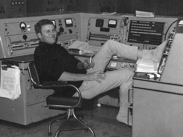 Jon Asmus was a technician at Himatangi Radio from 1968 to 1971