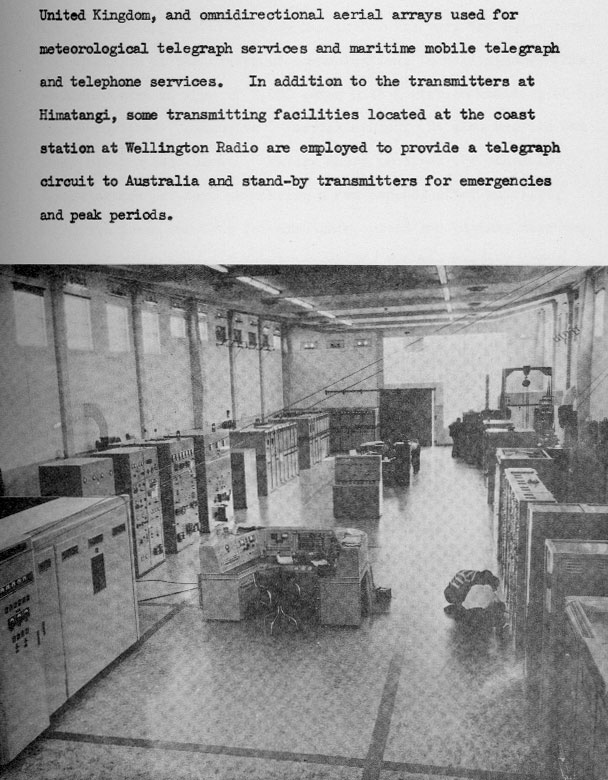 1960 description of Himatangi Radio