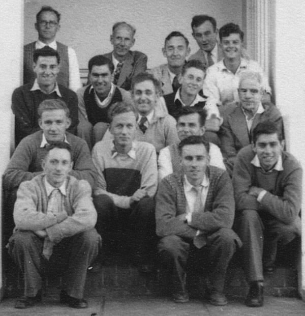 Staff of Makara Radio around 1960