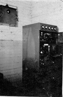 Baring Head radio transmitter, date unknown