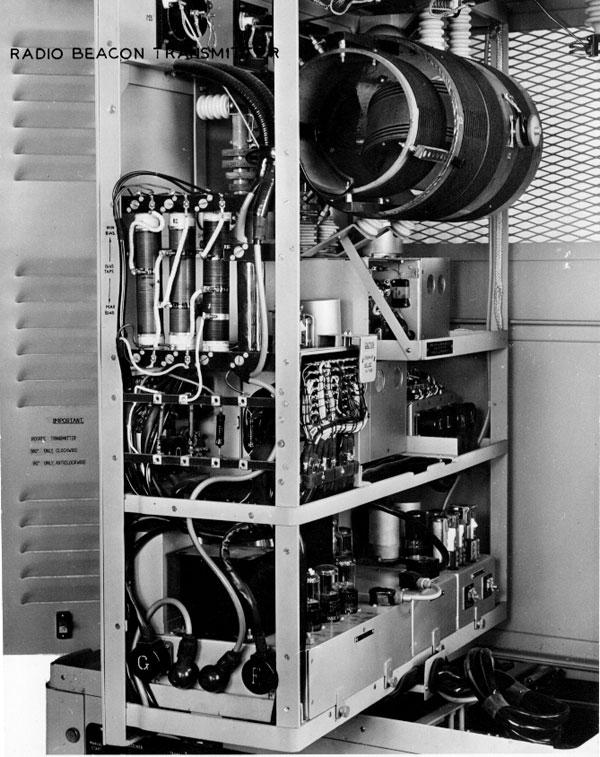 Radio beacon transmitter at Baring Head