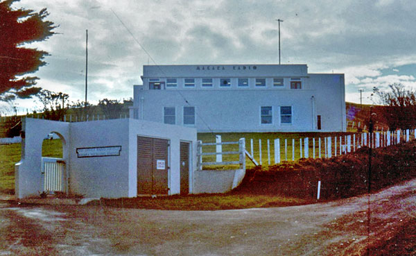 Entrance to Makara Radio c1970