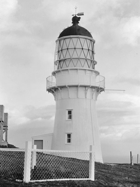 Stephens Island lighthouse in 1965