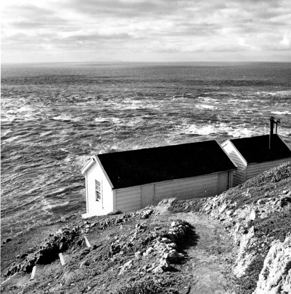View from Brothers Island lighthouse in the 1950s or 60s