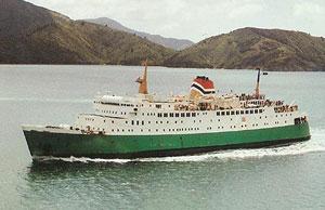 NZ Railways ferry Aratika