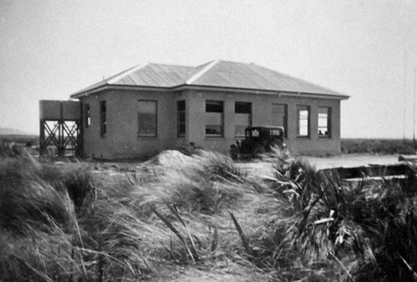 The new receiving station which opened in 1940 at Awarua Radio