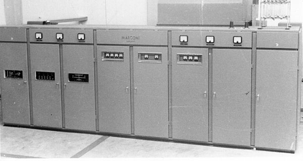 The completed Marconi HS51 transmitter with covers in place