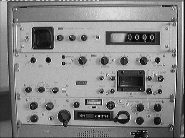 Racal frequency measuring system at Makara Radio in the mid 1970s