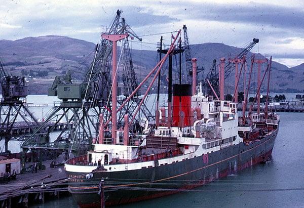 Kaimiro in Lytellton in 1968
