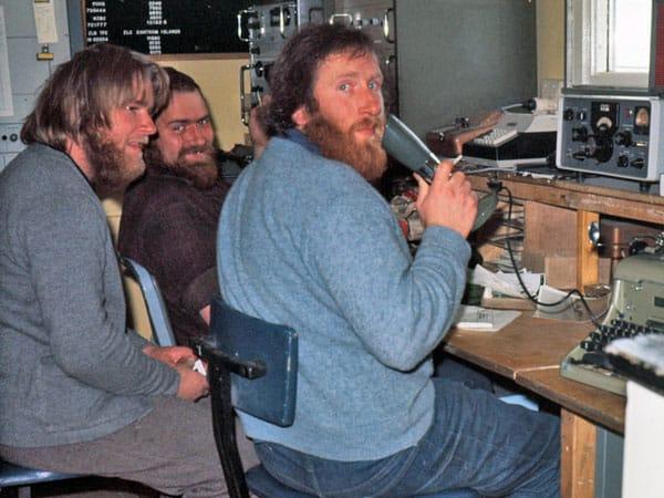 Scott Base radio room 1975-1976