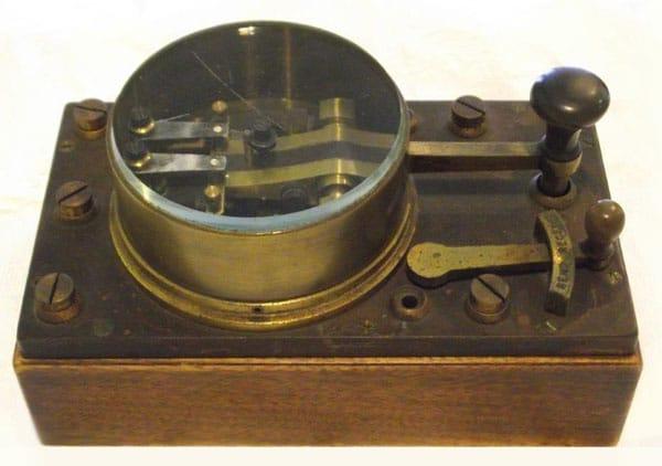Creed telegraph key at Awarua Communications Museum