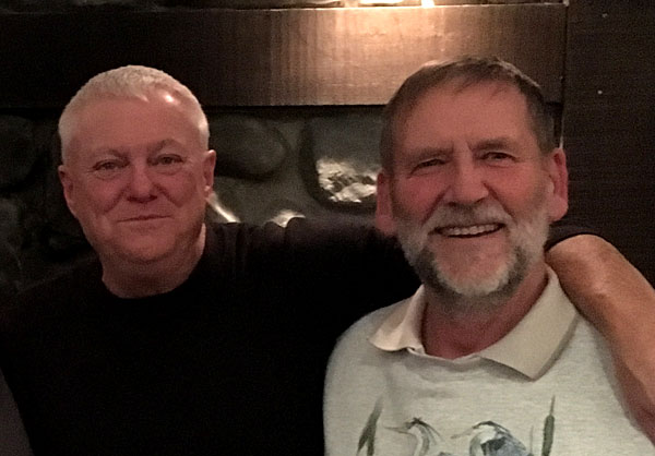 Jon Asmus and Rex Johnson, September 2016