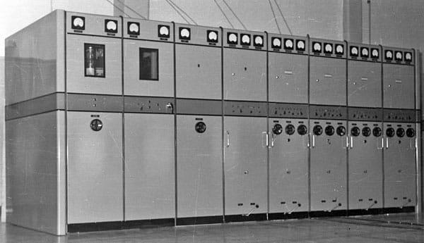 Philips 5kW telegraph transmitter at Himatangi