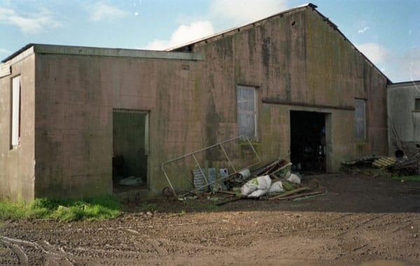 Original engine house for Awanui Radio