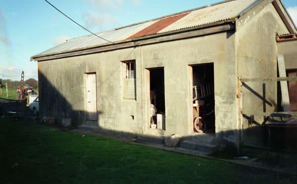 Probably the original storage building at Awanui Radio