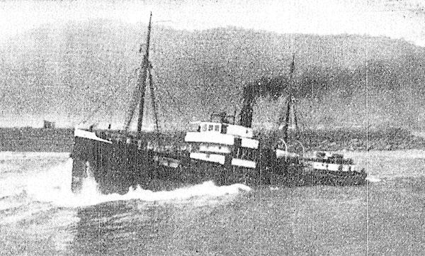 546-ton steamer Holmwood