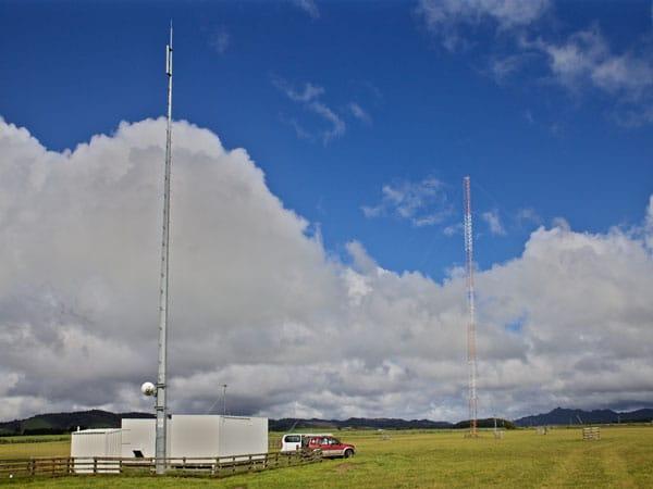 Taupo Maritime Radio ZLM Matea Transmit Site