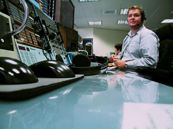 Nik Burt at Taupo Maritime Radio, Mar 2010