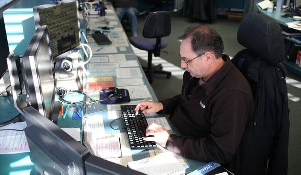 Andy at Taupo Maritime Radio, 24 Aug 2013