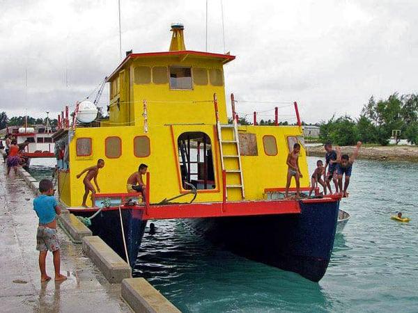 Kiribati ferry MV Butiraoi