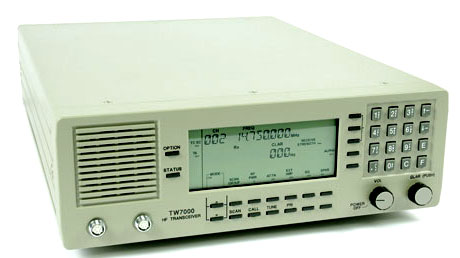During 2012, Taupo Radio used separate transceivers for transmitting and receiving DSC. The Datron TW7000 was used for transmitting. Photo: Datron