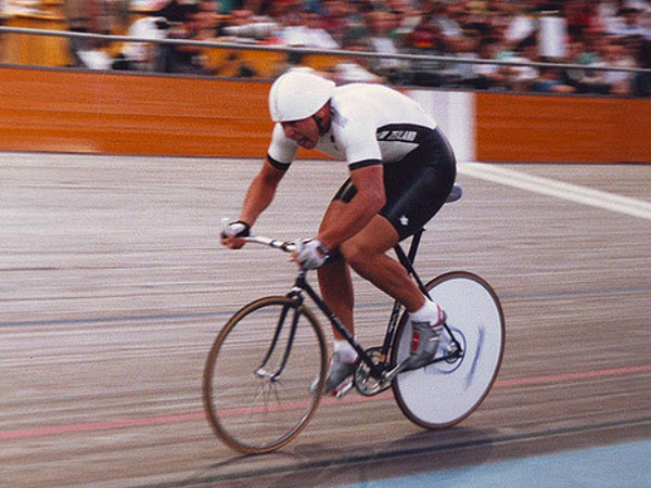 Tony Graham representing New Zealand at the 1988 Olympic Games in Seoul.