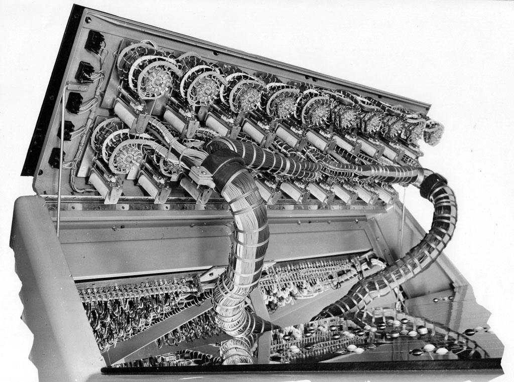 Interior of Aerial Control Panel