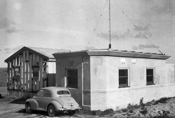 Quartz Hill receiving station in 1956