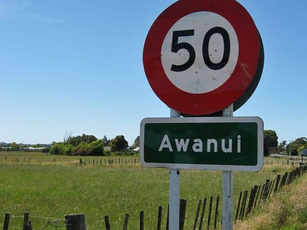 On the way to Awanui Radio
