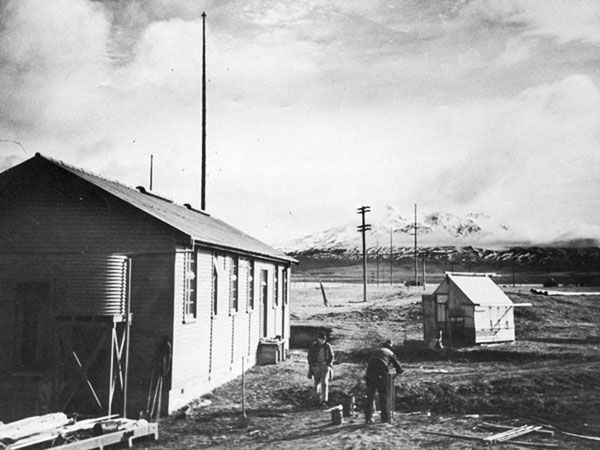 One of the original Navy buildings at Waiouru