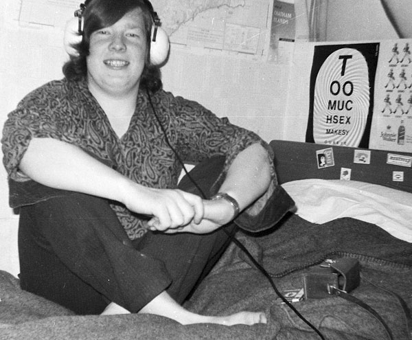 Peter Huitson was a radio operator at ZLC in 1971 and 1972