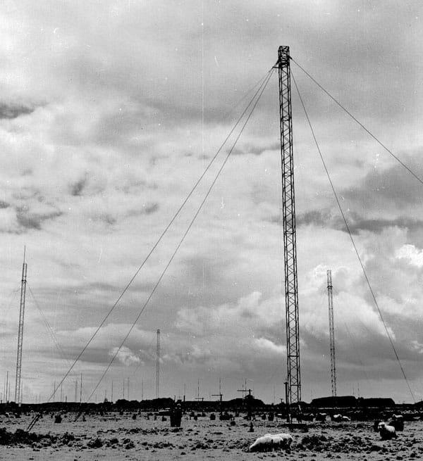 Tower and poles at Himatangi
