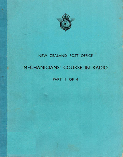 Book cover - Mechanicians Course in Radio