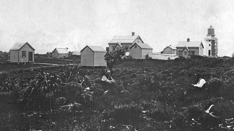 Puysegur light and settlement, 15 Jan 1886