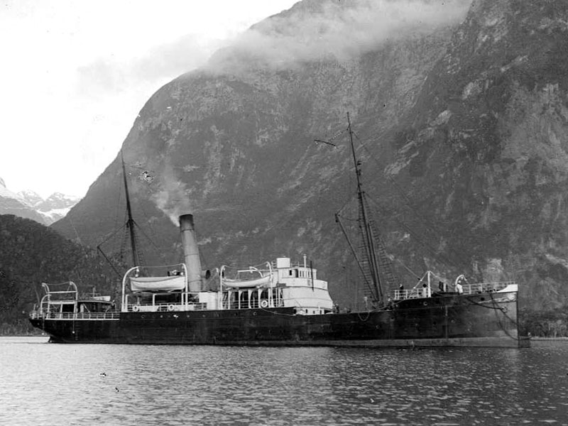 New Zealand Government steamer Tutanekai