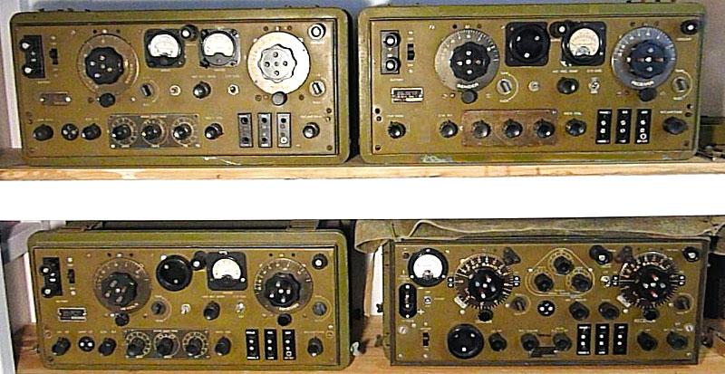 4 versions of the ZC1 radio transceiver