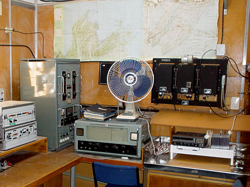 Wellington Polytechnic radio training room