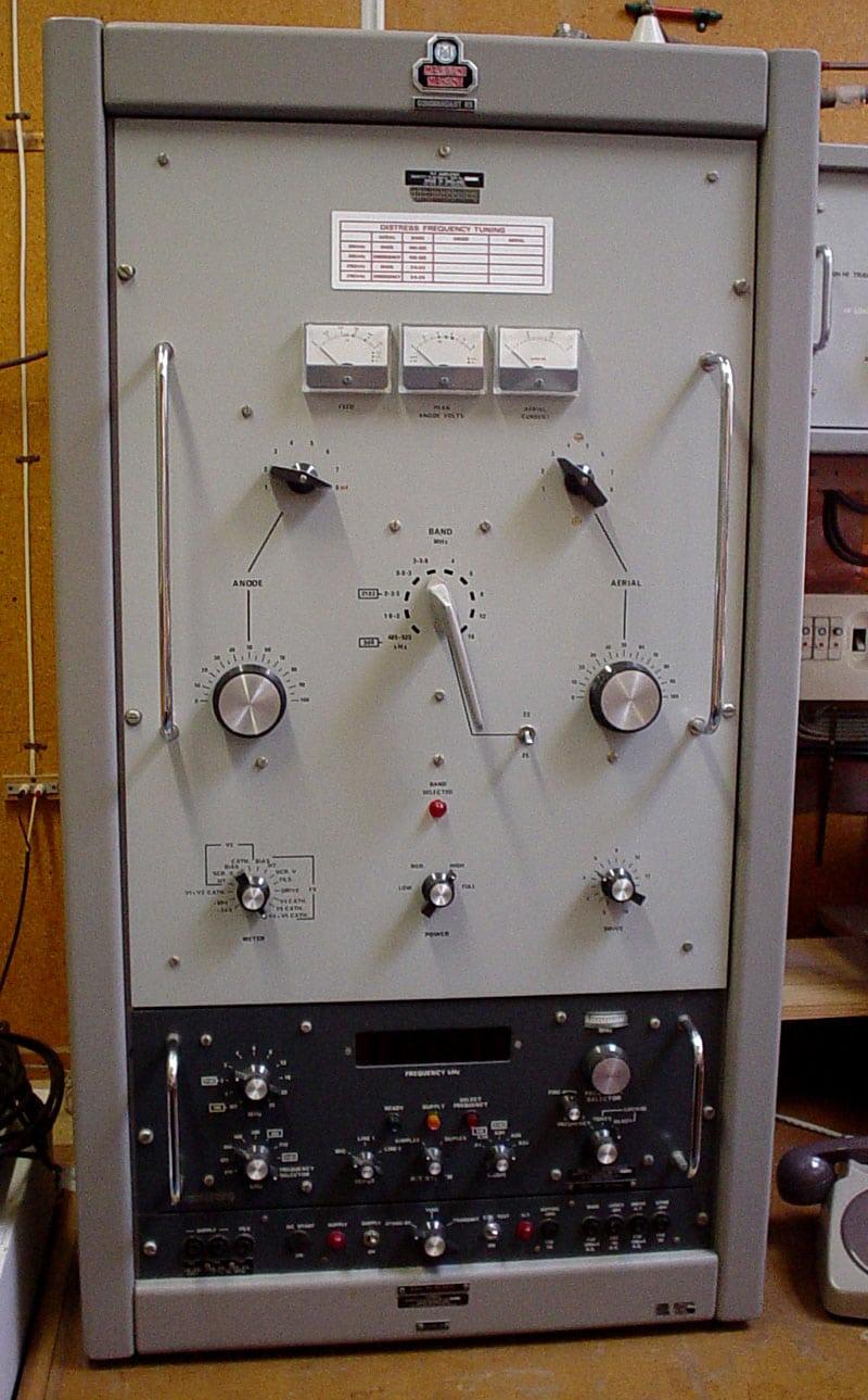 Marconi Commandant transmitter