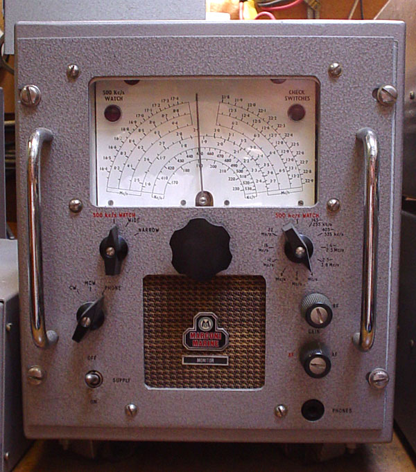 Marconi Monitor reserve receiver