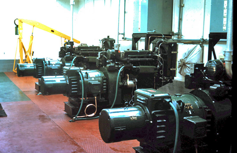Lister generators powered the settlement
