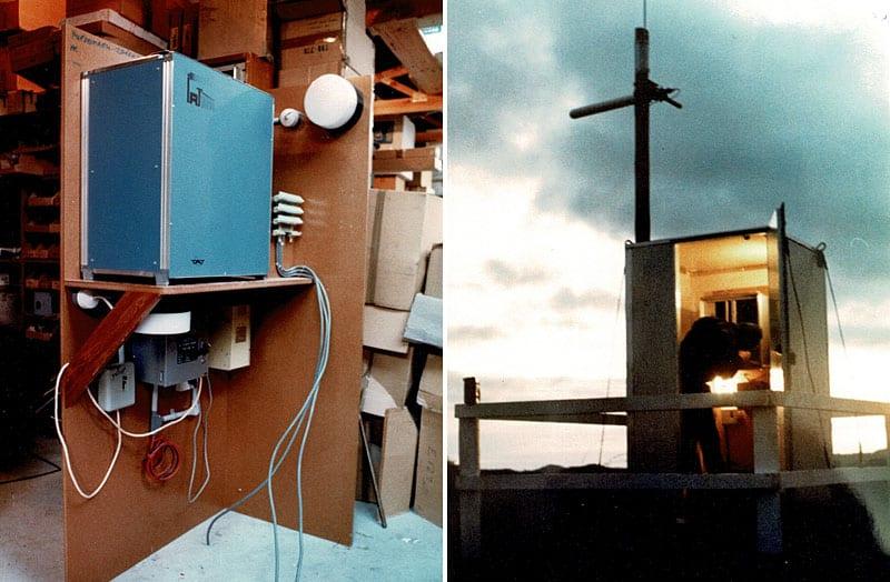 Christchurch Multi-Access Radio installation