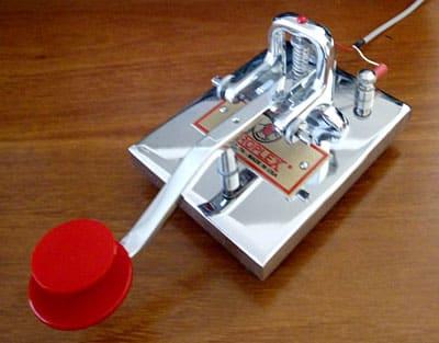 ZL1RQ Vibroplex key