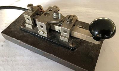 ZC1 WT 8Amp No2 telegraph key