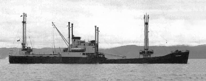 MV Kaitawa in 1949