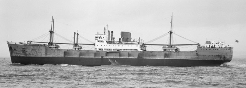 Lyle Shipping Co freighter MV Cape Horn