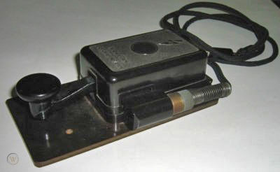 Stecker key at ZL1RQ