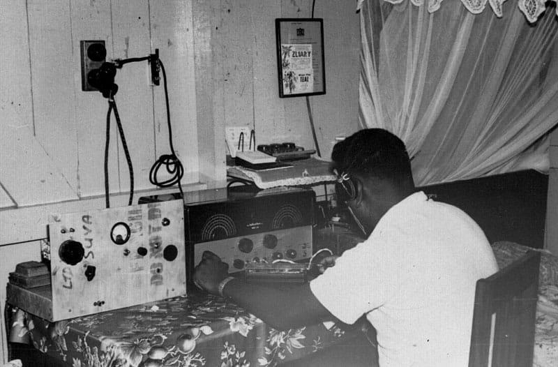 Raj Singh radio amateur VR2ER